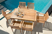 Barlow Tyrie, Linear Outdoor Dining Collection