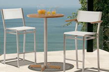 Barlow Tyrie, Equinox Outdoor High Dining Collection