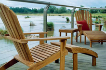 Barlow Tyrie, Adirondack Outdoor Loungers