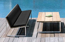 Mamagreen Outdoor Furniture, Oko Collection Bench