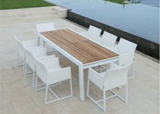 Mamagreen Outdoor Furniture, Baia Dining Collections