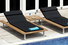Mamagreen Outdoor Furniture, Oko Collection Lounger