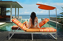 Mamagreen Outdoor Furniture, Oko Lounge Collection Lounger