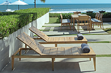 Mamagreen Outdoor Furniture, Twizt Collection Lounger
