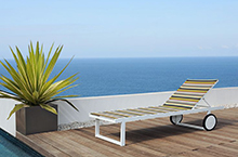 Mamagreen Stripe Outdoor Seating