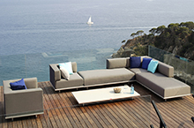 Royal Botania Outdoor Furniture, Lazy Deep Seating Collection