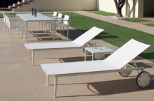 Royal Botania Outdoor Furniture, Little-L Collection Lounger