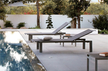 Sifas Outdoor Furniture, Ec-Inoks Collection Lounger