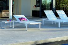 Sifas Outdoor Furniture, Kwadra Collection Lounger