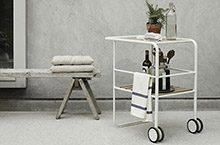 Skagerak Fuori Serving Trolley Cart