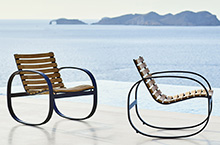 Cane-line Parc Teak Outdoor Seating Collection