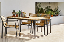 Cane-line Parc Dining Seating Collection