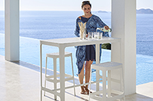 Cane-line Cut High Dining Collection