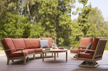 Gloster Outdoor Furniture, Cape Deep Seating Collection
