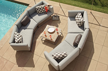 Gloster Outdoor Furniture, Cloud Deep Seating Collection