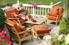 Gloster Outdoor Furniture, Halifax Deep Seating Collection