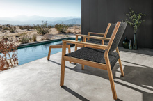 Gloster Outdoor Furniture, Maze Deep Seating Collection