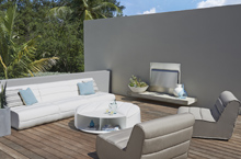 Gloster Outdoor Furniture, Nomad Deep Seating Collection