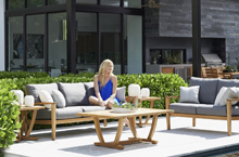 Gloster Outdoor Furniture, Oyster Reef Deep Seating Collection