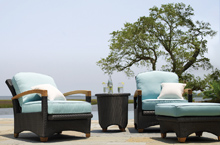 Gloster Outdoor Furniture, Plantation Deep Seating Collection