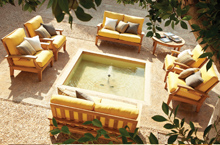 Gloster Outdoor Furniture, Ventura Deep Seating Collection