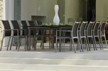 Gloster Outdoor Furniture, Azore Dining Collection