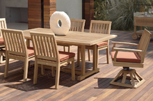 Gloster Outdoor Furniture, Cape Dining Chairs