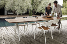 Gloster Outdoor Furniture, Curve Dining Chairs