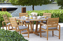 Gloster Outdoor Furniture, Oyster Reef Dining Collection