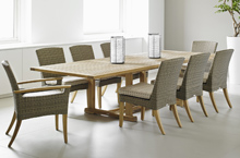 Gloster Outdoor Furniture, Pepper Marsh Dining Chairs