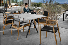 Gloster Outdoor Furniture, Split Dining Tables