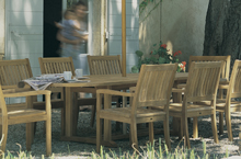 Gloster Outdoor Furniture, Teak Dining and Bar Tables