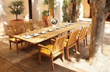 Gloster Outdoor Furniture, Ventura Dining Chairs