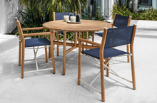 Gloster Outdoor Furniture, Voyager Dining Collection