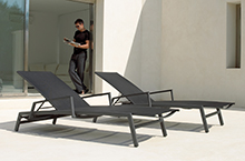 Gloster Outdoor Furniture, Azore Loungers