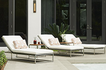 Gloster Outdoor Furniture, Cloud Loungers