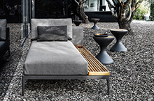 Gloster Outdoor Furniture, Grid Loungers