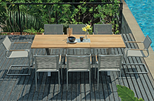 Mamagreen Outdoor Furniture, Natun Dining Collection