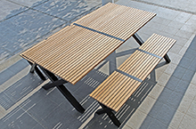 Mamagreen Outdoor Furniture, X-Leg Collection