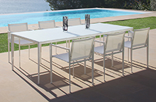 Royal Botania Outdoor Furniture, Little-L Dining Collection