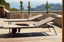 Sifas Outdoor Furniture, Pheniks Collection Lounger