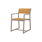 Mamagreen Baia Dining Chair, Taupe
