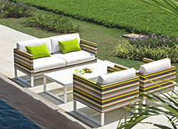 Mamagreen Stripe Modern Deep Seating Collection