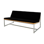 Mamagreen Oko Collection Casual Bench, Black