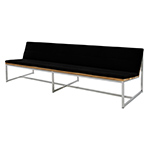 Mamagreen Oko Collection Long Casual Bench, Black