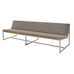 Mamagreen Oko Collection Long Casual Bench, Taupe