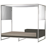 Mamagreen Jane Daybed with Canopy