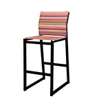 Mamagreen Stripe Bar Chairs
