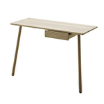 Skagerak Georg Desk, with Optional Drawer