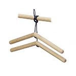 Skagerak Georg Hangers with Leather Cord
